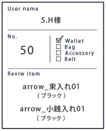 Alt81ご愛用者様レビュー S.H様 arrow_束入れ01_ブラック/arrow_小銭入れ01_ブラック/1年3カ月使用