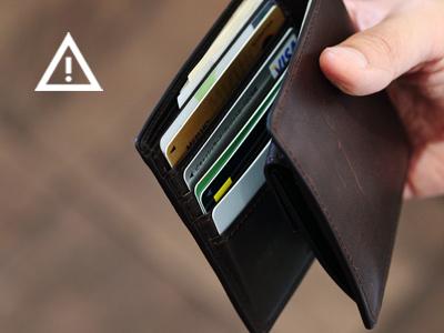 想定外の枚数をカード段に無理やり入れた場合