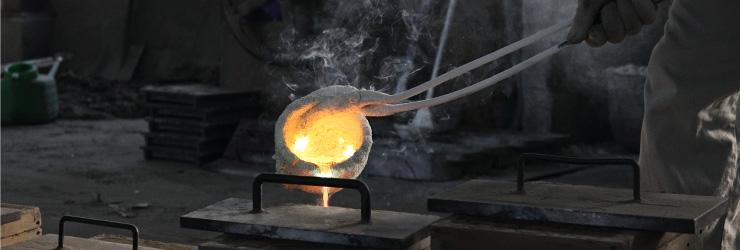 真鍮鋳物に宿る技